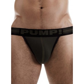 PUMP! Free-Fit Jock - Military Green