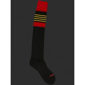 Barcode Berlin Football Socks - Black,Red and Yellow
