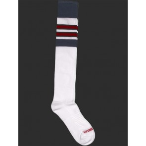 Barcode Berlin Football Socks - White,Navy and Red