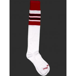 Barcode Berlin Football Socks - White,Red and Black
