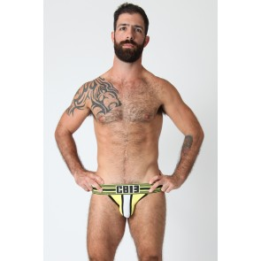CellBlock 13 Cellmate Jock - White/Yellow/Black