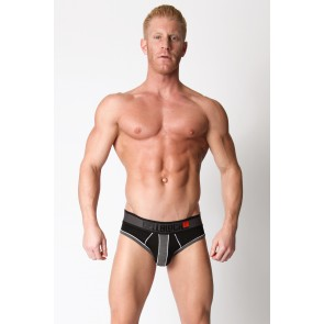 CellBlock 13 Liquid Shadow Brief - Grey