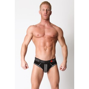CellBlock 13 Liquid Shadow Jock Brief - Grey