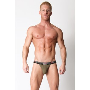 CellBlock 13 Ward13 Seamless Jock - Army Green