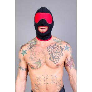 CellBlock 13 Riot Small Mouth Hood - Black/Red