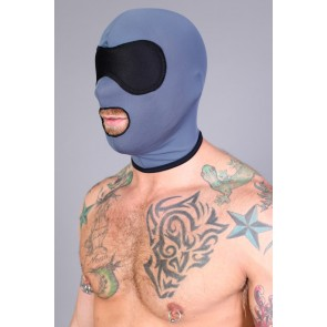 CellBlock 13 Riot Small Mouth Hood - Black/Grey