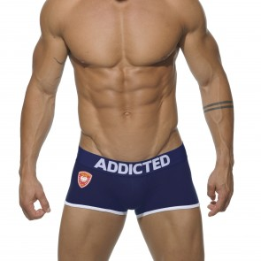 Addicted Police Sports Boxer - Navy