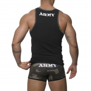 Addicted Army Sport Tank Top - Black