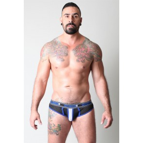 CellBlock 13 Alpha Brief -- Blue | EagerGear