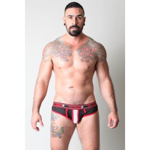 CellBlock 13 Alpha Brief -- Red | EagerGear