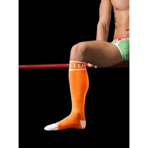 Barcode Berlin Neon Identity Socks - Turbo Top