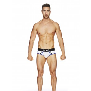 BCNU Atletico Sports Brief - White