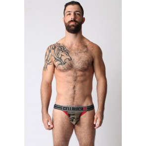 CellBlock 13 Cadet Jock - Camouflage / Red