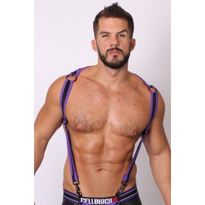 CellBlock 13 Arsenal Harness - Purple