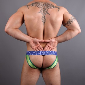 SUKREW Joey Full V Brief - Green