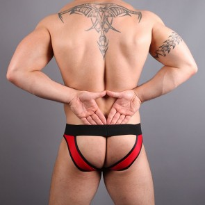 SUKREW Jake Full V Brief - Red & Black