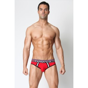Timoteo Racer Sport Brief - Red