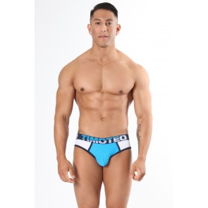 Timoteo Shockwave Athlete Jock - Blue