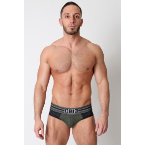 CellBlock 13 Dragnet Jock Brief - Army Green