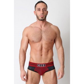 CellBlock 13 Dragnet Jock Brief - Red