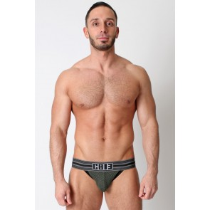 CellBlock 13 Dragnet Jockstrap - Army Green