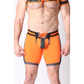 Cellblock 13 Gridiron Short - Orange