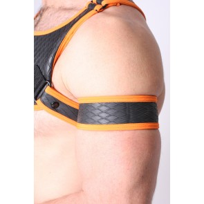 CellBlock Gridiron Arm Band - Orange