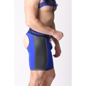 Cellblock 13 Gridiron Short Jock Backless - Blue