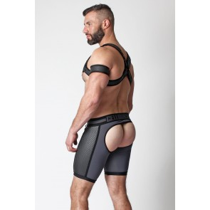 Cellblock 13 Gridiron Short Jock Backless - Grey